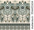 border indian floral paisley...