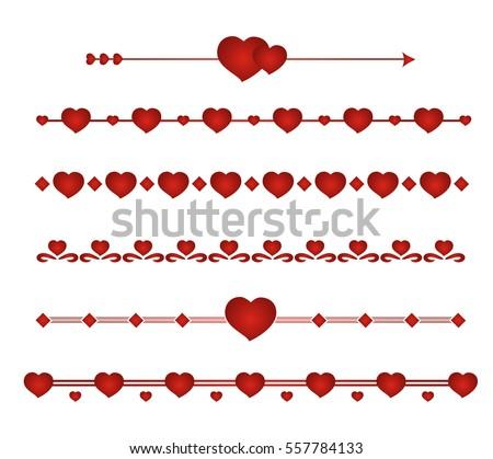 heart border stock images royaltyfree images amp vectors