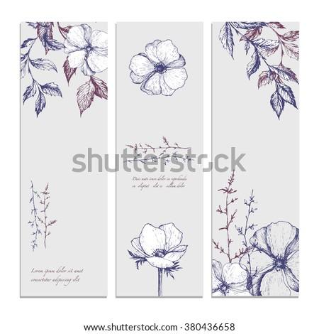 Hand Sketches For Medical Sales Business Card Design
