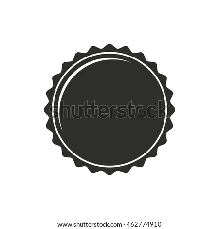 bottle cap icon stock vector 304146935 - shutterstock