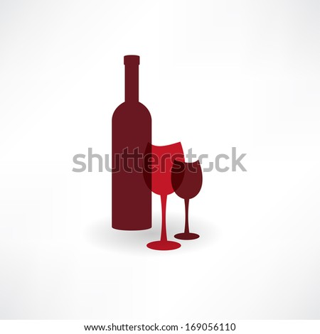 Grape Wine Illustration Vector Formathand Drawn Stock ...