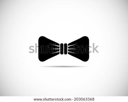 Bow Tie Icon - stock vector