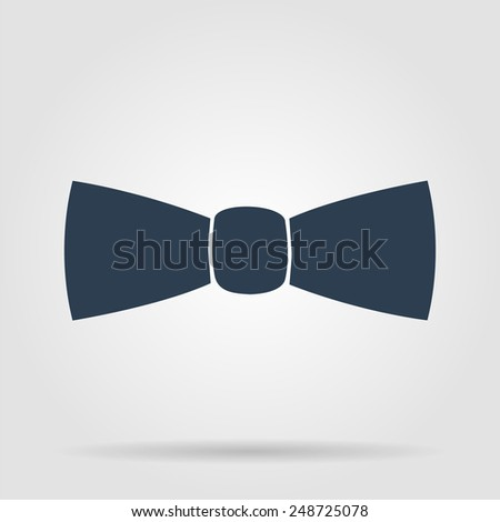 Bow tie, icon vector. Illustrator EPS 10 - stock vector