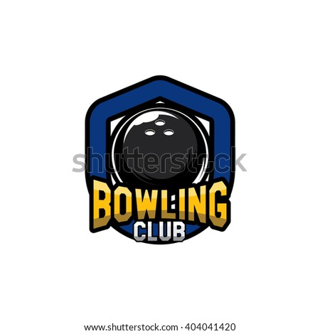 Bowling Badge Logo