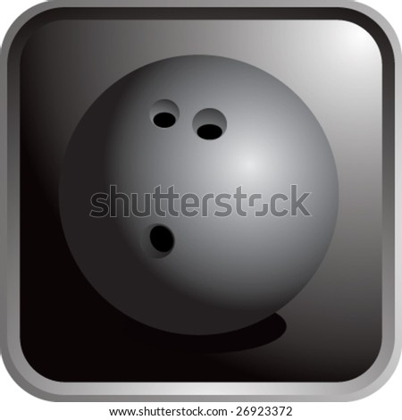 bowling ball icon
