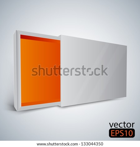 box - stock vector