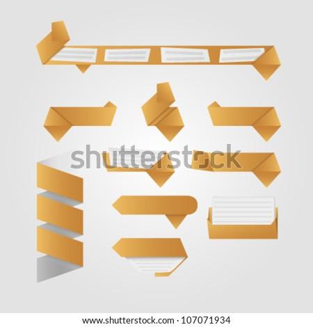box button - stock vector