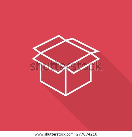 box icon - stock vector