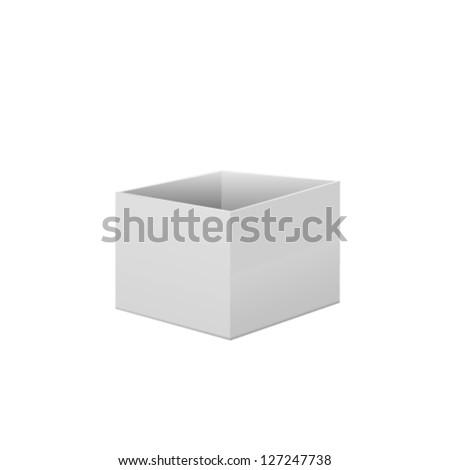 Box. Vector - stock vector