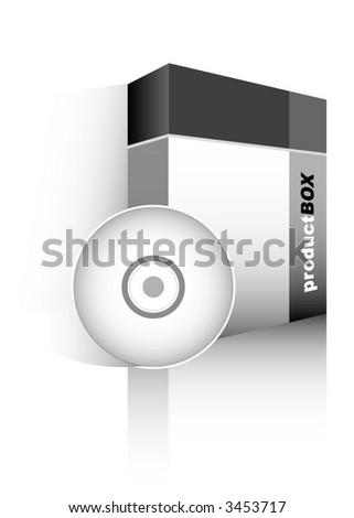 Box (vector) - stock vector