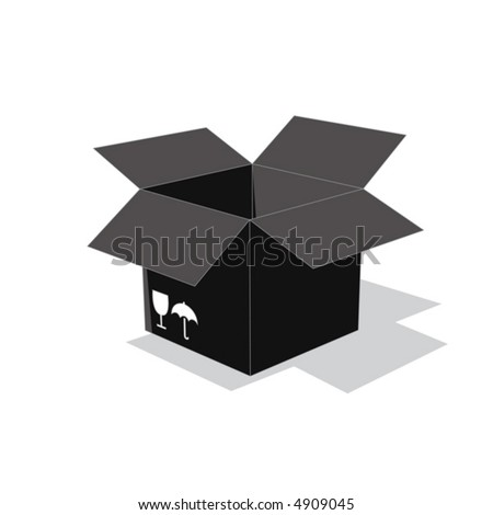 box vector - stock vector