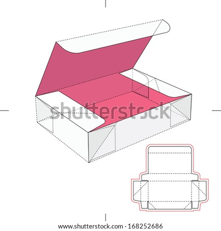 how to make popcorn box template