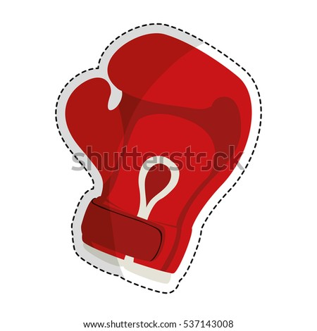 boxing gloves icon image vector illustration design