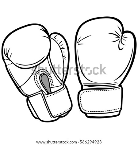 Boxing Gloves Vector Stock Images Royalty Free Images Vectors