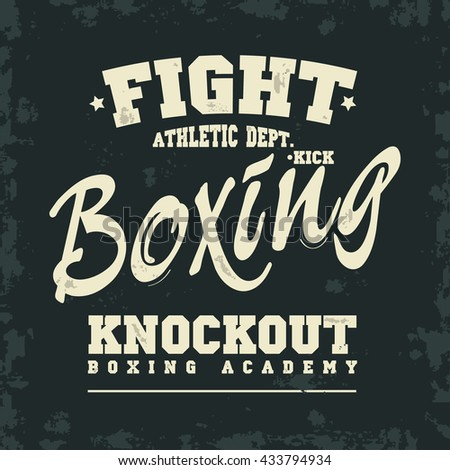 boxing typography stock photos royalty free images vectors shutterstock