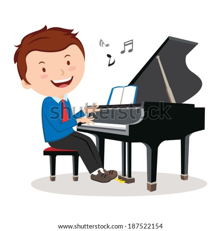 Playing Piano Stock Photos, Images, & Pictures | Shutterstock