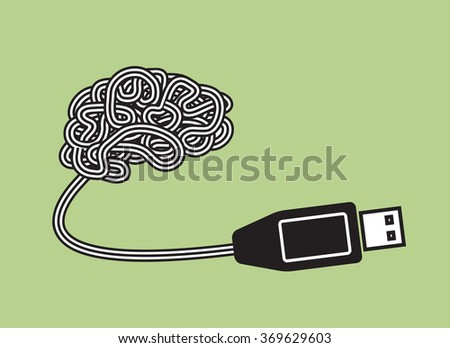 brain as portable plug and play device