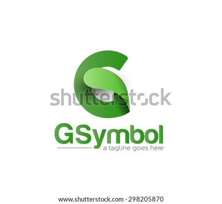 Branding Identity Corporate vector logo design  - stock vector