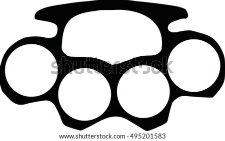 Brass knuckles template gallery template design ideas for Brass knuckles template