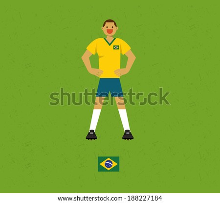 Brazil Soccer Tables - stock vector