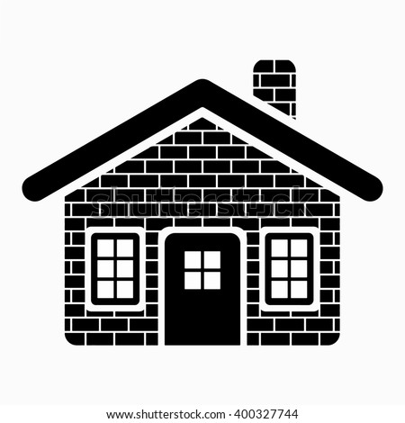 Brick House Vector Design
