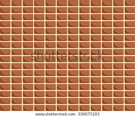 Brick texture vector background for Web and Mobile Application. EPS 10