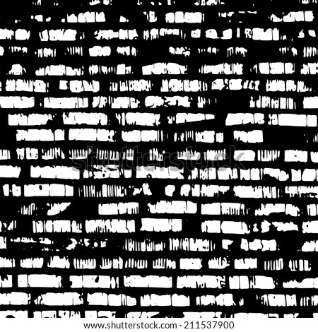 Black White Background Grungy Grid Artistic Stock Vector