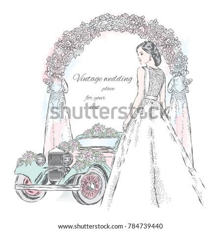 Cartoon car images black and white dress