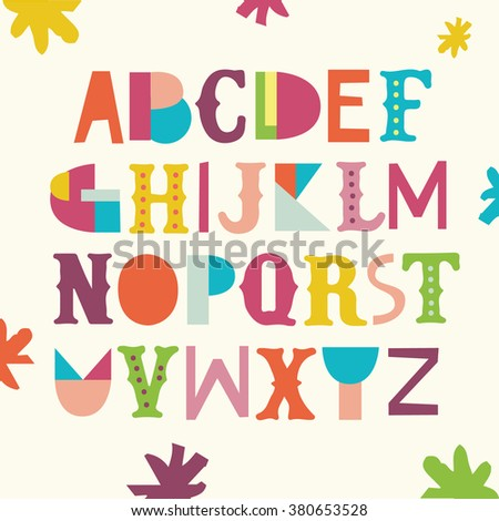 Bright ABC for kids.