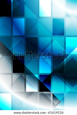 Bright abstract background - eps 10 - stock vector