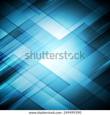 Bright abstract geometric tech background. Vector illustration eps 10 - stock vector