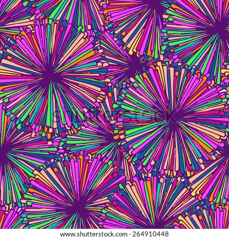 Bright abstract seamless pattern. Pink and magenta. - stock vector