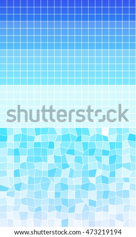 Bright blue and purple banner with place for your text. low polygon mauled a triangular pattern. Vector illustration. To realize your ideas in online design, business presentations.