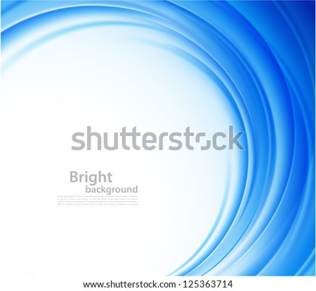 Bright blue background - stock vector