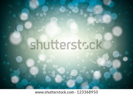 bright blur background. vector eps10 - stock vector