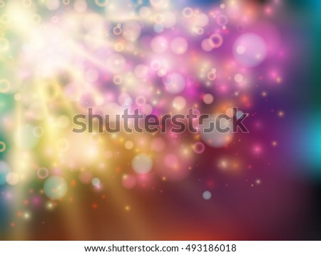 bright colorful abstract background in design vector