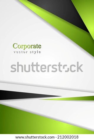 Bright colorful corporate background. Vector abstract background - stock vector