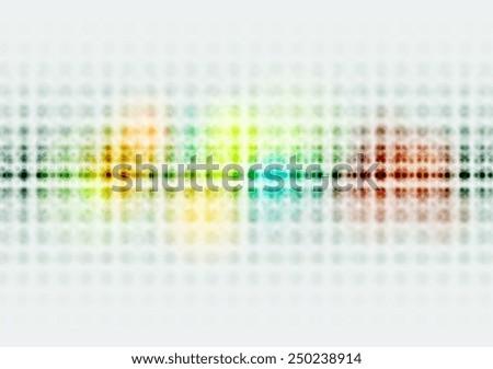 Bright colorful hi-tech circles background. Vector design - stock vector