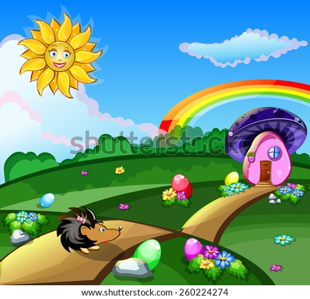 bright Easter picture vector