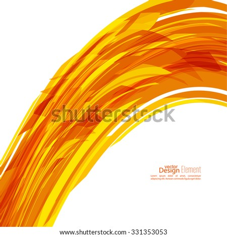Bright energy flow. Abstract background with colored elements.  For cover book, brochure, flyer, poster, magazine, booklet, leaflet, annual report