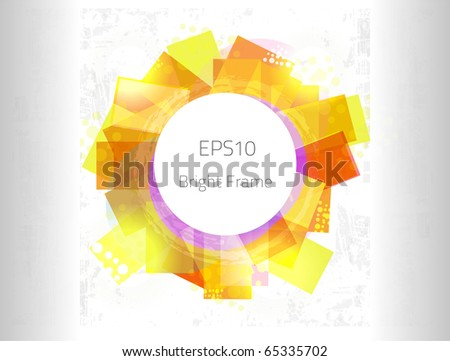 Bright frame for your design. Fully vector, enjoy!