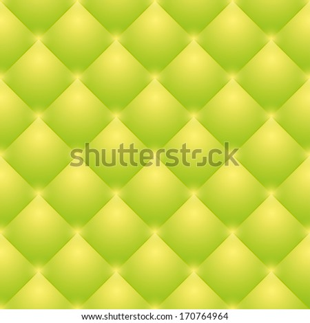 bright green upholstery background. seamless vector. eps10 - stock vector