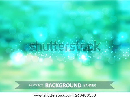 bright green Vector EPS 10 illustration. - stock vector