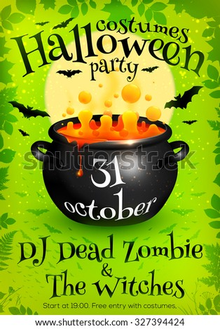 Witch Brew Stock Vectors, Clipart and Illustrations
