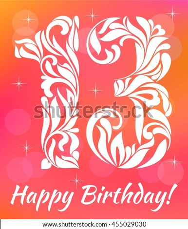 13th Birthday Stock Images, Royalty-Free Images & Vectors ...