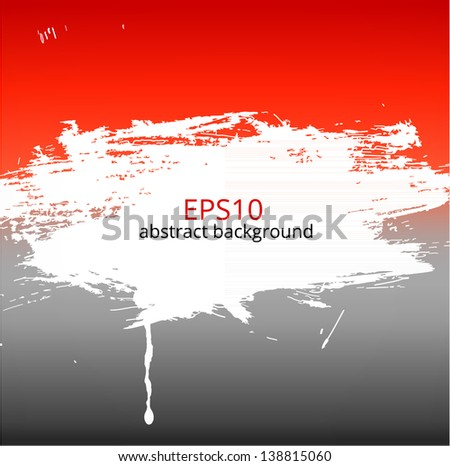 Bright grunge background for your design Vector illustration. - stock vector