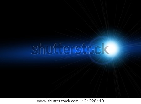 Bright lens flares. Lighting effects of flash. Easy to use.  - stock vector