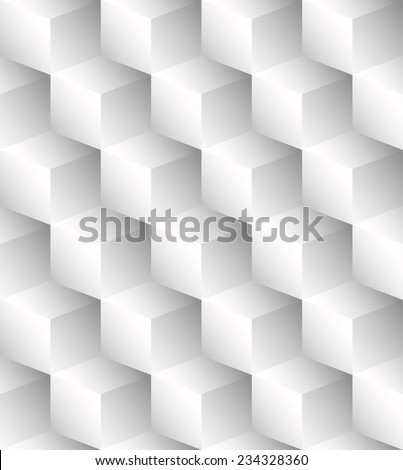 Bright pattern made of cubes (repeatable, fill any area with it) - stock vector