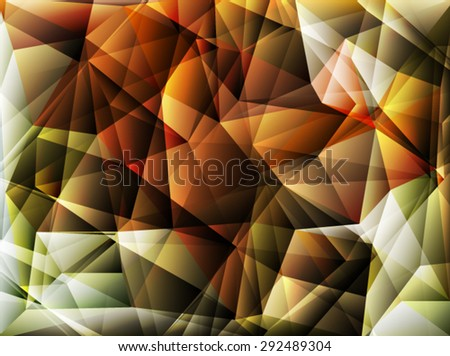 Bright polygon abstract bakcground.Vector EPS 10 illustration. - stock vector