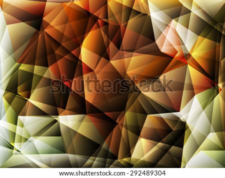 Bright polygon abstract bakcground.Vector EPS 10 illustration. - stock vector
